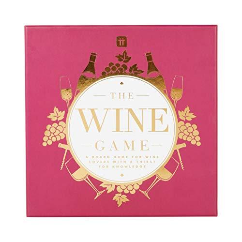 Talking Tables WINE-GAME Wijn thema Trivia Bordspel, Spelletjesnacht, Volwassenen, na het diner, tafelspel, algemene kennis