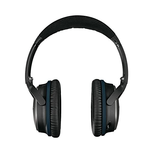 Bose QuietComfort 25 Acoustic Noise Cancelling Headphones for Apple devices - Black (Wired 3.5mm) 5