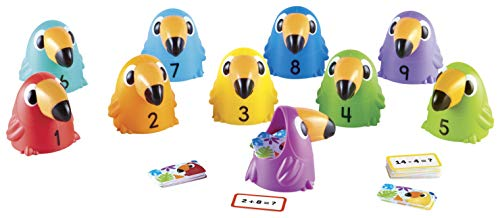 Learning Resources Toucans to 10 Sorting Set, Counting & Sorting, Early Math Skills Toy, Ages 5+