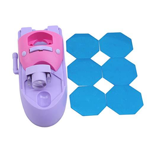 WERR Nail Art Pattern Printer, DIY Stamper Manicure Printing Machine Printers Tool Set for Girls