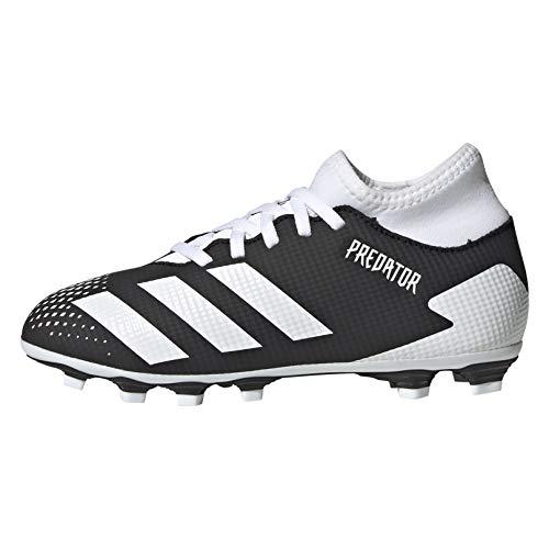 adidas Predator 20.4 S IIC FxG J, Zapatillas de fútbol, NEGBÁS/FTWBLA/NEGBÁS, 30 EU