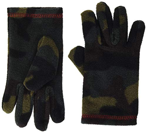 United Colors of Benetton (Z6ERJ) Guanti Guantes para clima frío, Verde 904, S para Niños