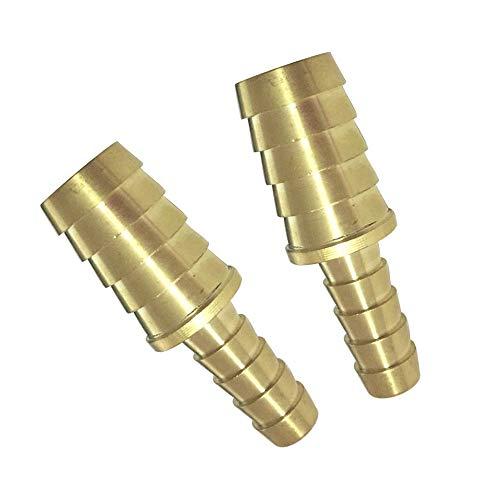 Brass Hose Barb Fitting Union//Splicer//Mender//Joiner Assortment Kits 3//16 1//4 5//16 3//8 1//2 5//8 Barbed x Barbed 6pcs