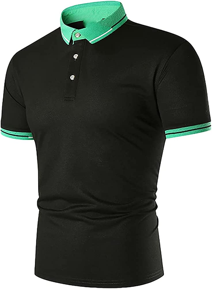 N\P Men's Shirts Fees free Color Casual Max 46% OFF Short-Sleeved Business