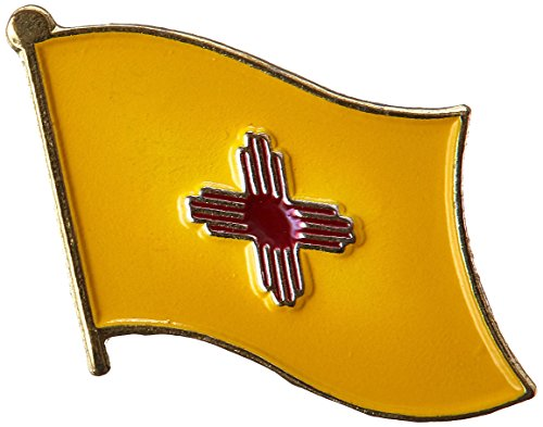US Flag Store New Mexico Flag Lapel Pin