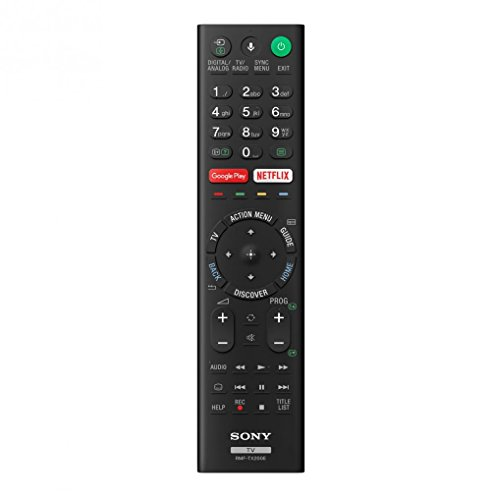 Sony RMF-TX200E / RMFTX200E Mando a Distancia Original para Television Sony