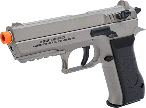 Evike Magnum Research Jericho 941 Baby Desert Eagle Airsoft CO2 Pistol by Cybergun (Color: Grey)