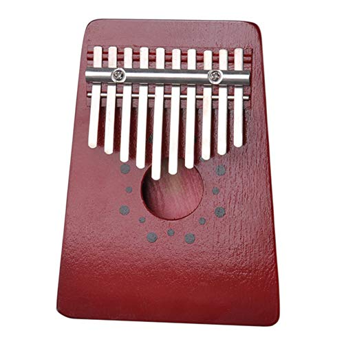 10 Tasten traditionelles Geschenk Afrika beten Holz Finger Kalimba Thumb Piano Mini Pumps