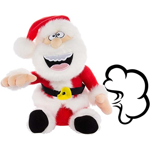 Simply Genius Santa Claus: Farting Animated Plush Toys, Christmas Stuffed Animals, Animated Christmas Decorations