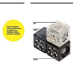 Modular Robotics Cubelets Robot Blocks – Curiosity Set – Kids Coding Robots, Learn STEM Concepts, Ages 4+