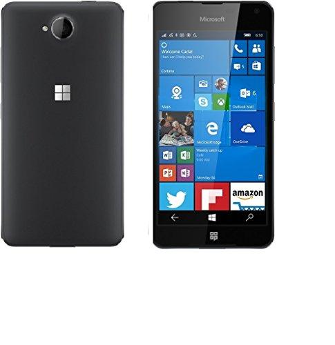 SmartLike Nokia Lumia 650 Back Cover and Curve Tempered Glass for Nokia Lumia 650
