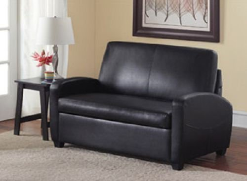 Sofa Sleeper Convertible Couch Loveseat Chair Recliner Futon Black...