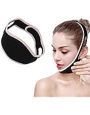 Gezichtsvermageringsmasker, Gezichtshefgordel, Gezichtsafslanken Wanggordel Bandage Gordelmasker Facelift Dubbele Kinband Kaakondersteuning Gezichtshefband Riem Voor V Face Line Slim
