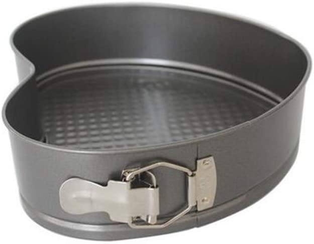 Spasm price Springform Cake Pan 9 inch Heart N Cheesecake Mold Shaped Baking Recommended