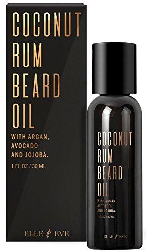 Huile de barbe de qualité supérieure pour homme - Adoucissant et revitalisant sans rinçage - Facilite la pousse de la barbe - Élimine les démangeaison