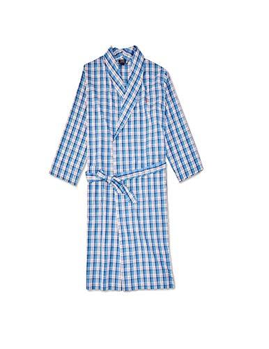 Polo Ralph Lauren Herren Bademantel gewebt -  Blau -  Large/X-Large