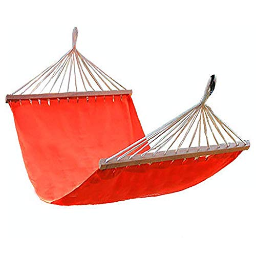 LHAHGLY Hammock Chair Hanging Rope Swing - Max 330 Lbs - Portable Canvas Lazy Hanging Swing - Superior Comfort Amp; Durability,Orange Comfort Durability/Blue hammocks, stands & accessories