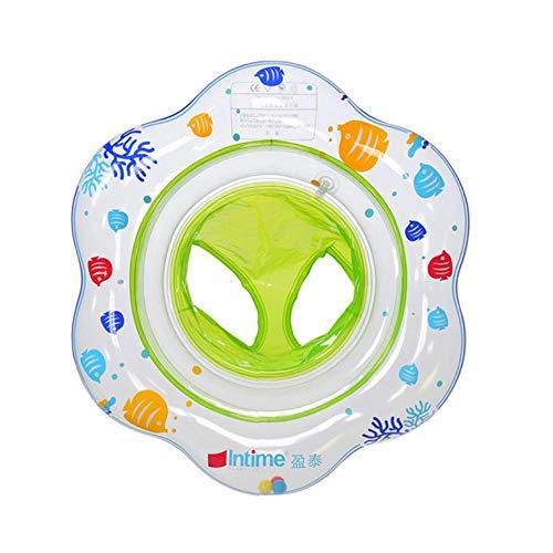 Baby-Schwimmhose Stil aufblasbares Schwimmboot Fischdruck Schwimmbad Zubehör Kinder Schwimmring Kleinkind Schwimmsitz, grün
