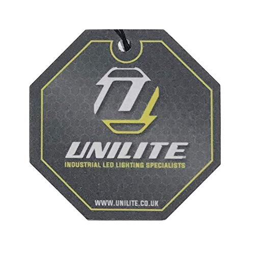 Unilite RAIL-HDL9R Industrial High Power USB Rechargeable CREE LED Head Torch | Network Rail Approved | 750 Lumen | Micro USB Charging Cable Included | 4 to 260 Hours Run Time | FREE Car Air Freshener