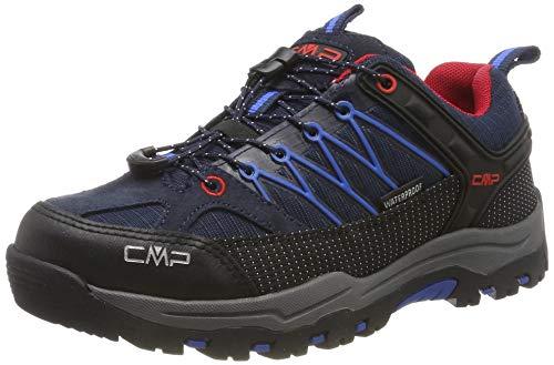CMP Jungen Unisex-Kinder Kids Rigel Low Shoe Wp Trekking- & Wanderhalbschuhe, Blau (B.Blue-Royal 10nc), 32 EU