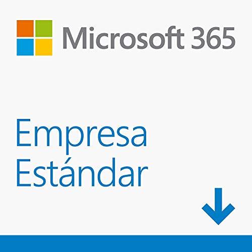 Microsoft 365 Empresa Estándar | Suscripción anual para una licencia | 5 teléfonos/5 tabletas/5 PCs o equipos Mac para 1 persona