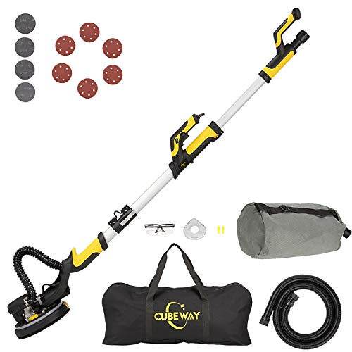 CUBEWAY Drywall Sander with Vacuum Attachment
