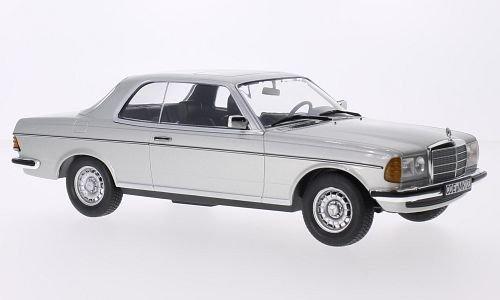 Mercedes 280 (W123) CE, silber, 1980, Modellauto, Fertigmodell, Norev 1:18