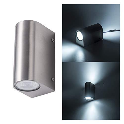 Lámpara de pared Arriba y Abajo llevaron pared de acero inoxidable luz aplique de la pared de la lámpara 10W lámpara de pared al aire libre de la iluminación de la luz interior LED Soporte de Luz