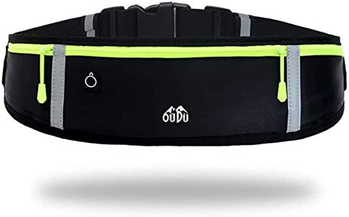 Rantizon Running Belt Waterproof Fanny Pack Running Belt for Women Waist Bag Running Phone Holder product image