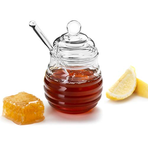 Our #5 Pick is the KooK Honey Pot or Jar