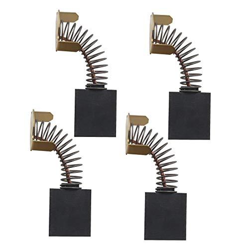 2 pares de cepillos de carbono de 6 x 16 x 18 mm con corte automático compatible con Titan TTB280DRH 1700 W piezas de repuesto para interruptor de hormigón.