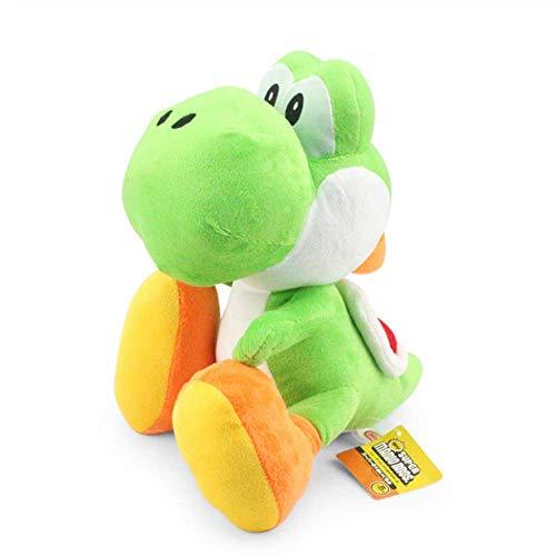 zhengboasd Soft Toys, Yoshi Plush Doll Super Mario Bros Toy With Tag Soft Green Yoshi Doll Kid's Gifts 22cm green