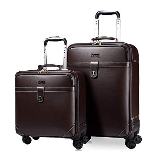 LLKK Juego de equipaje de viaje de tres piezas de 16 pulgadas, 20 pulgadas, 24 pulgadas, paquete de maleta, portátil, para llevar en la maleta con ruedas giratorias, viaje de negocios
