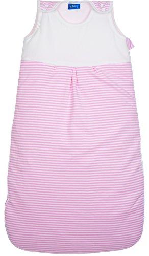 Fillikid 049-90-12 Ganzjahresschlafsack Jersey, 90cm, rosa
