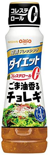 日清オイリオ 日清ドレッシングダイエット ごま油香るチョレギ 185ml ×6個