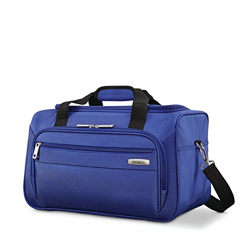 Samsonite Advena Softside Expandable Luggage with Spinner Wheels, Cobalt Blue, Travel Tote