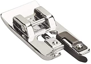 ZIGZAGSTORM SA-135 Snap On Overlock Overcast Presser Foot - Fits All Low Shank for Singer,Brother,Babylock,Euro-Pro,Janome(New Home),Kenmore,White,Juki,Simplicity,Elna Sewing Machine - 7310B-G