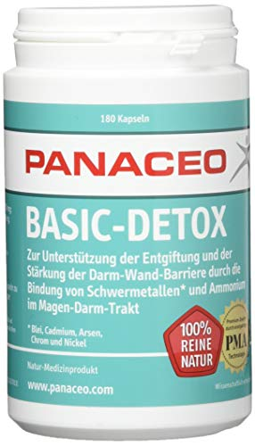 Panaceo Basic Detox Kapseln 180St.