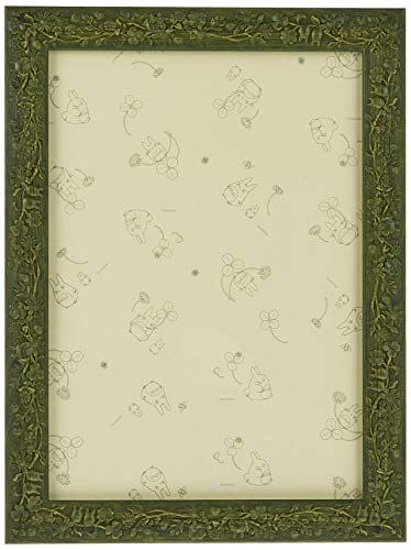108 for the piece leaves Ghibli dedicated puzzle frame (green) (18.2 x 25.7cm) 1 - button (japan import)