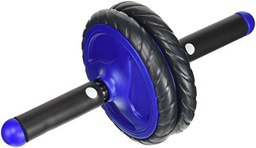 ENERGETICS Bauchtrainer AB Roller Pro, Schwarz/Blau, One Size