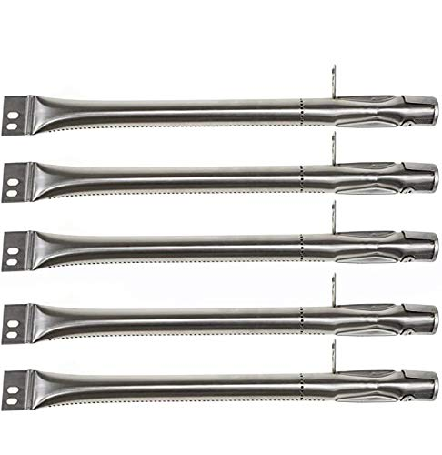 Hisencn Grill Burner Replacement for Brinkmann Brinkman 810-2511-S, 810-2512-S, 810-3660-S, 810-4220-S Gas Grill Models, 15 5/16 inch Stainless Steel Burner Pipe Tube