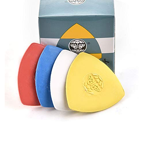 10 Pieces Pack Triangle Tailor's Chalk Sewing Quilting Notions White/Yellow/RED/Blue … (Multicolour)