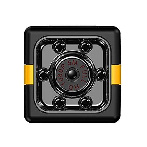 Bascar Mini cámara de vigilancia FX011080P HD Outdoor Sports cámara antena DV portátil pequeña cámara compacta cámara de seguridad para interiores y exteriores (negro)