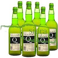 6 botellas de Sidra Llagar de Quintana