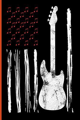 Bass Guitar Flag: Guitarist Instrumental Gift For Musicians (6
