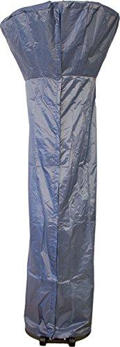 BeachandPool Premium Schutzhülle für Terrassenheizer PU grau, Abdeckung für Heizpilz Wetterschutzhülle Gasheizer