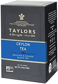 50-Count Taylors of Harrogate Pure Ceylon Tea