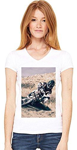 Bicycles-Yeti-Sport-Mountain-Bikes Womens V-neck T-shirt XX-Large