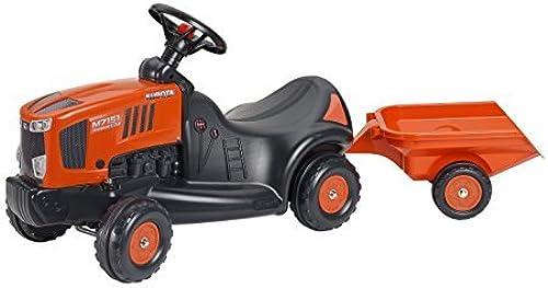 auténtico Falquet Falquet Falquet & Cie - 3060B - Porteur Kubota M7151 Remorque - naranja by Falquet & Cie  tienda de ventas outlet