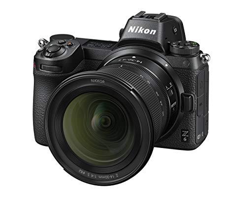 Nikon Z 6 Spiegellose Vollformat-Kamera mit Nikon 14-30 mm 1:4 S (24,5 MP, 12 Bilder pro Sek., 5 Achsen-Bildstabilisator, OLED-Sucher mit 3,69 Mill. Bildpunkten, AF mit 273 Messfeldern, 4K UHD Video)